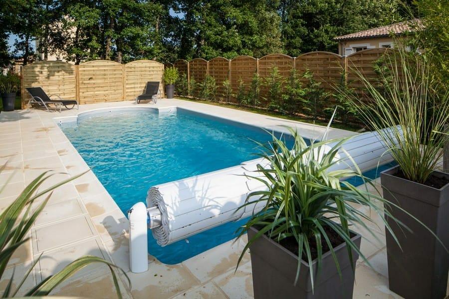 menši vonkajší bazen na záhradu